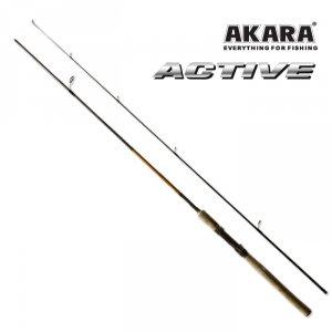 Спиннинг штекерный угольный 2 колена Akara 0107 Active
