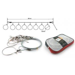 Кукан Akara Fishing Expert 9035 на тросе 4 м (8 шт.)