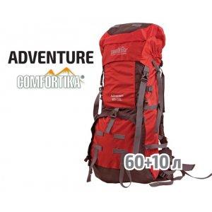 Рюкзак Comfortika Adventure трекинговый AK9206А 60 +10 литров красный