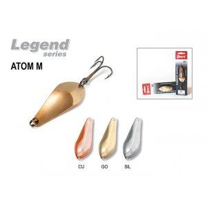 Блесна колебалка Akara Legend Atom M