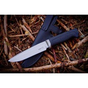 Нож Амур-2 (полированный эластрон)