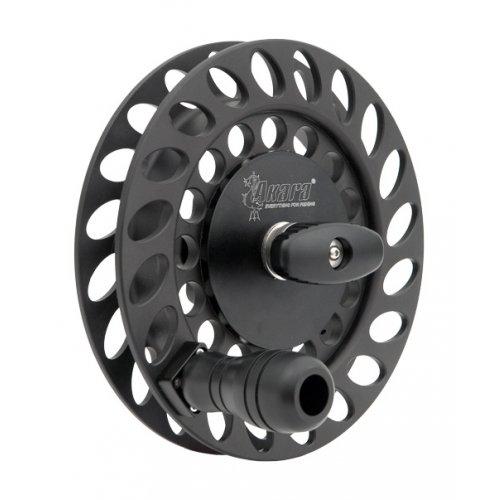 Катушка планерная Akara APR-08 алюминиевая черная диаметр 200 мм