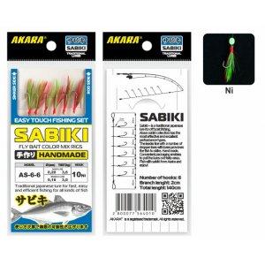 Сабик Akara Fly Bait Color Mix Rigs 6 Ni