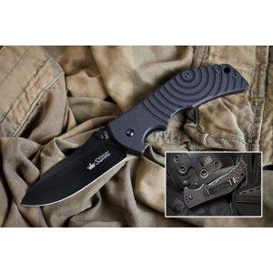 Нож Bloke-X Чёрный AUS8