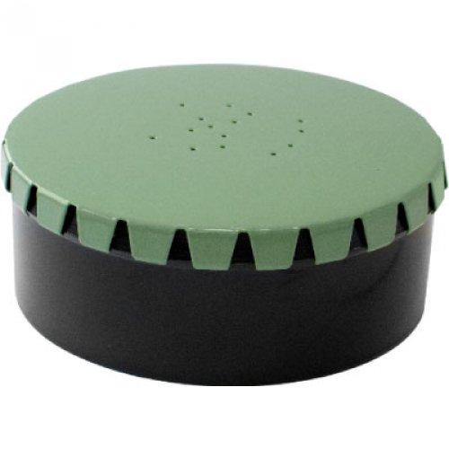 Коробка Akara COHD-01 для наживки круглая металлическая крышка