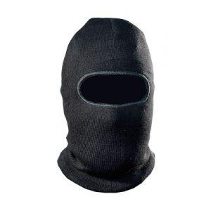 Шапка-маска TR вязан. черн. 1 отверстие
