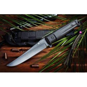 Нож Croc Черный D2