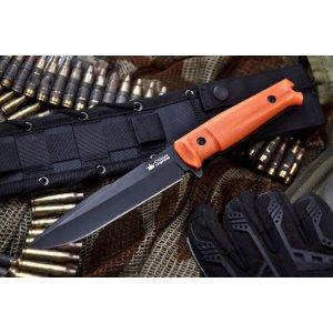 Нож Delta Черный D2