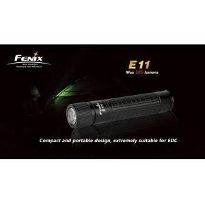 Фонарь Fenix Flashlights E11 (105лм)
