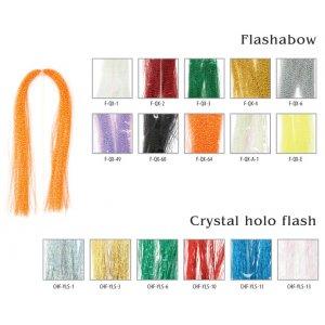 Мушиный хвост Akara Crystal holo flash 30 см YLS