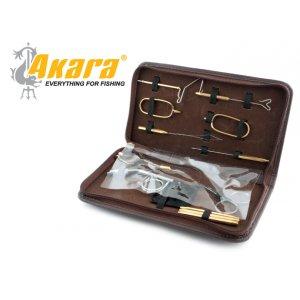 Станок для вязки мушек 7312 походный + набор инструментов в чехле