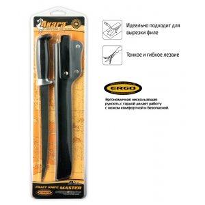 Нож Akara Fillet Master FK18-23 23 см кожаный чехол