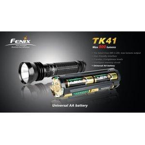 Фонарь Fenix Flashlights TK41 XM-L (800лм)