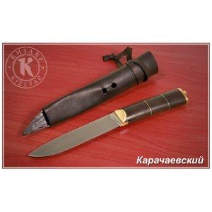 Нож Карачаевский (металл/дерево-орех)