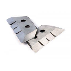 Ножи для ледобура 4 мм зубчатые 130 мм (2 шт.)