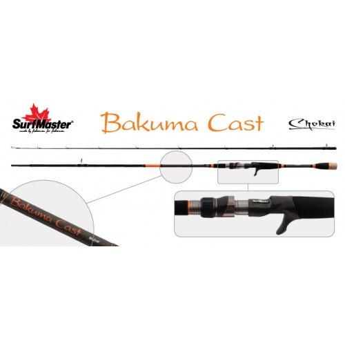 Спиннинг штекерный угольный 2 колена Surf Master LC1231 Chokai Series Bakuma TX-20