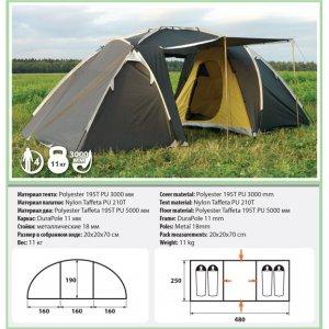 Четырехместная палатка Comfortika - Family New
