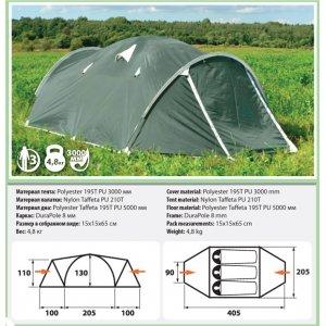 Трехместная палатка Comfortika - Pamir 3 Plus