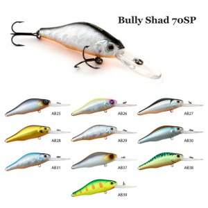 Воблер Raiden Bully Shad 70SP