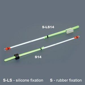 Кивок лавсановый двойной на силиконе NOD S-LS14