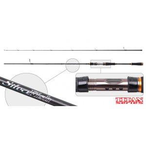 Спиннинг штекерный угольный 2 колена Surf Master 3085 Titan Series Silver Fish IM9