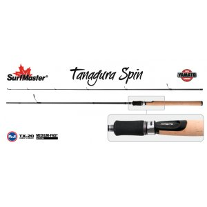 Спиннинг штекерный угольный 2 колена Surf Master YS5004 Yamato Series Tanagura Spin TX-20