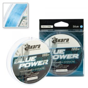 Леска Akara Blue Power голубая 100 м