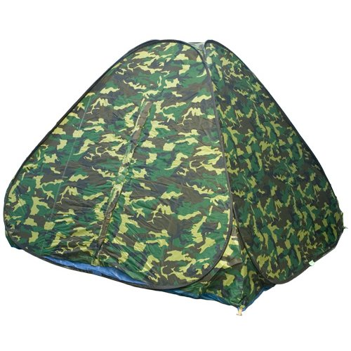 Палатка Comfortika автоматическая КМФ 2 х 2 м