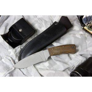 Нож Терек-2 (полированный дерево-орех) Z90