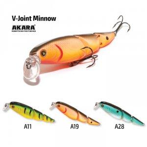 Воблер Akara V-Joint Minnow 95 F
