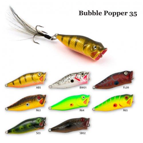 Воблер RAIDEN Bubble Popper 35