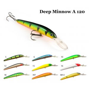 Воблер RAIDEN Deep Minnow A 120