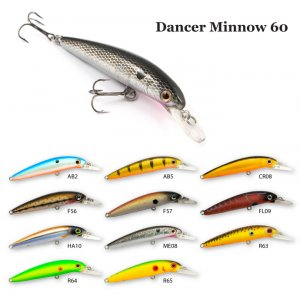 Воблер RAIDEN Dancer Minnow 60
