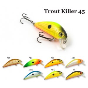 Воблер RAIDEN Trout Killer 45