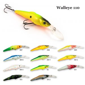 Воблер RAIDEN Walleye 110