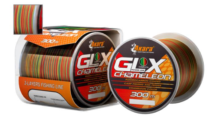 Леска Akara GLX Chameleon Power Line 300 м