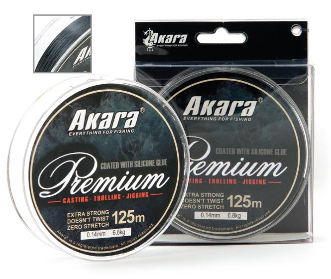 Шнур Akara Premium Grey 125 м