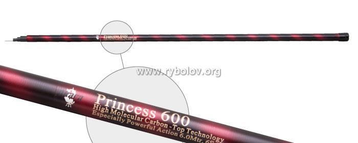 Удилище телескоп угольное д/с Akara Princess 7,0 м б/к