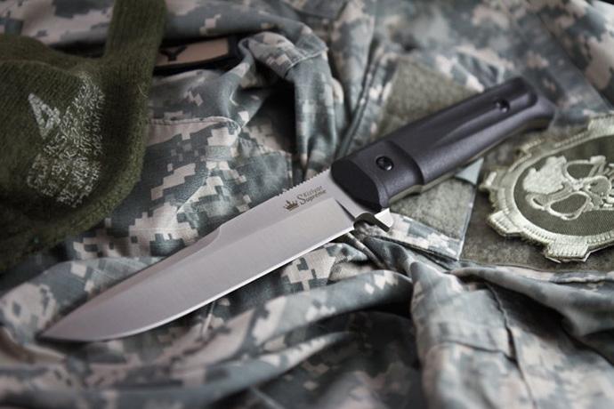 Нож Alpha Полированный AUS8 Kizlyar Supreme