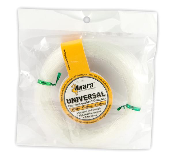 Леска Akara Universal 100 м в мотке