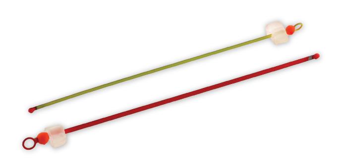 Кивок Akara Ice Fishing Nod часовая пружина краш. балансирный 3,0-14,0 г 190 мм шарик кольцо