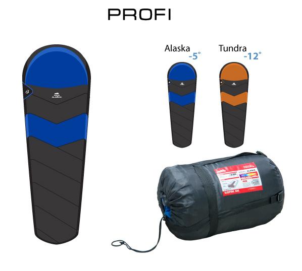 Спальник Comfortika Profi Alaska 230x50x80 см с подголовником -10С /+10С