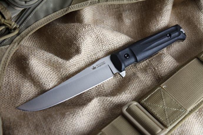 Нож Croc Полированный AUS8 Kizlyar Supreme