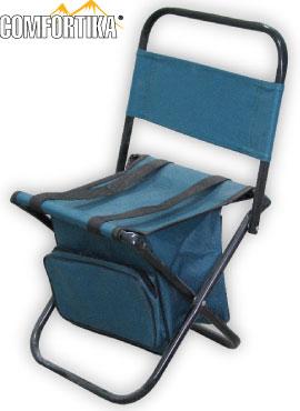 Cтул складной со спинкой и сумкой Comfortika