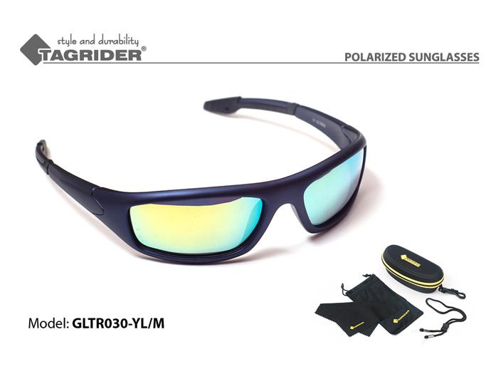 Очки поляризационные Tagrider в чехле GLTR 030 YL/M