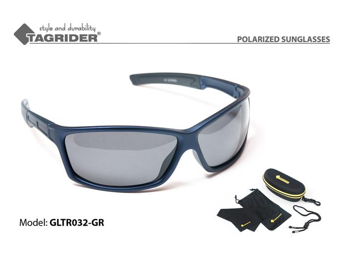 Очки поляризационные Tagrider в чехле GLTR 032 GR