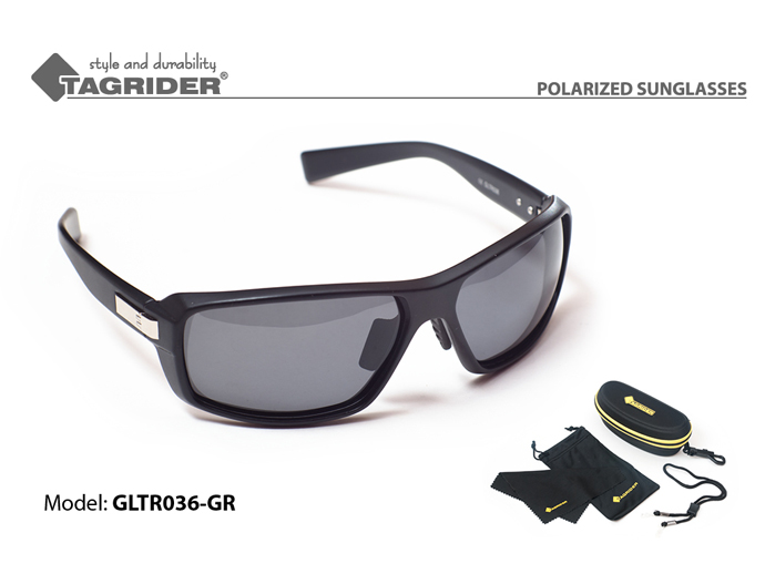 Очки поляризационные Tagrider в чехле GLTR 036 GR