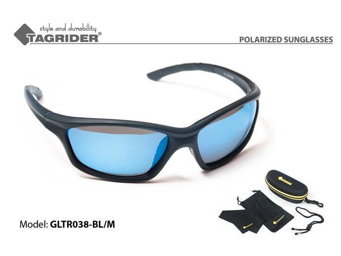 Очки поляризационные Tagrider в чехле GLTR 038 BL/M