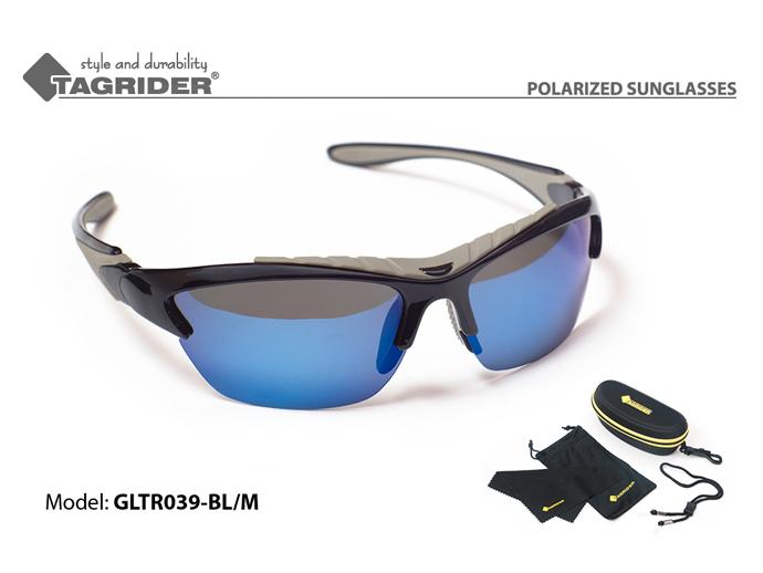 Очки поляризационные Tagrider в чехле GLTR 039 BL/M