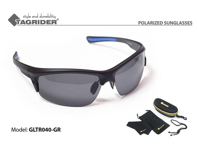 Очки поляризационные Tagrider в чехле GLTR 040 GR